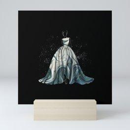 Evening Gown Fashion Illustration #1 Mini Art Print