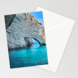 Greece Ocean Stationery Cards