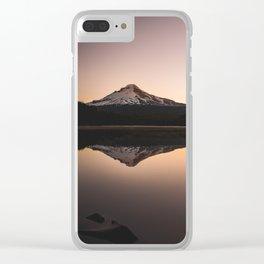 Oregon Mountain Adventure Clear iPhone Case