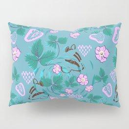 Chipmunks in the Strawberries Pillow Sham