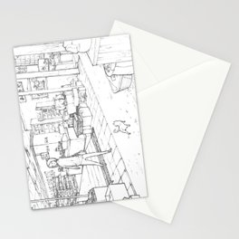 Little Cat's Journey Stationery Cards