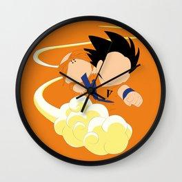 Sangoku, Krilin & the Flying Nimbus Wall Clock