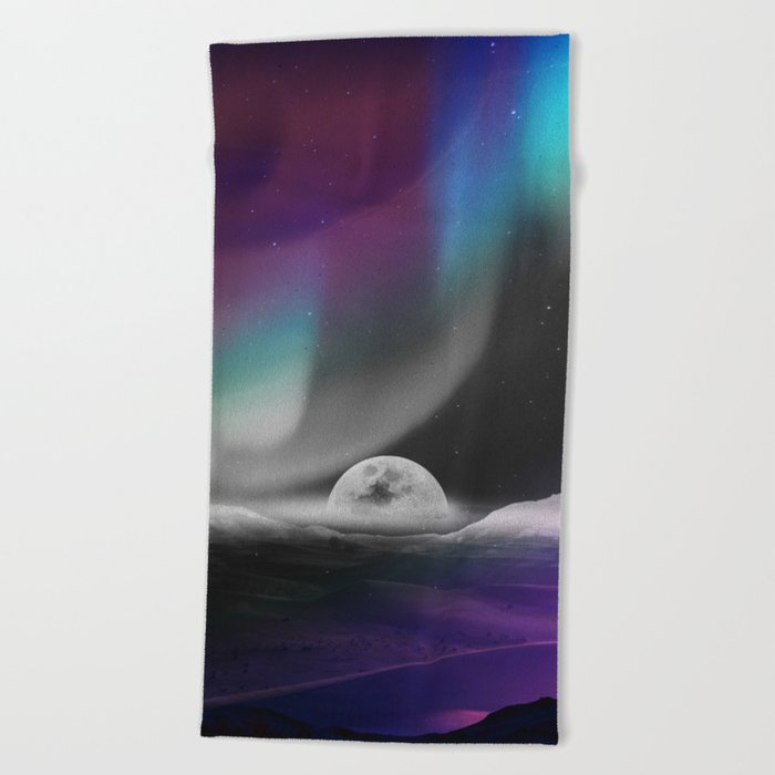 Moon After birth Beach Towel