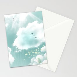 look at the sky Stationery Cards