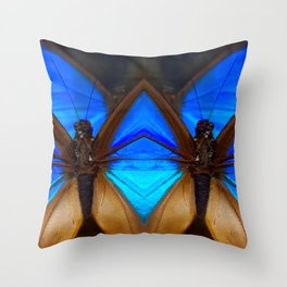 Butterfly Sentinels Throw Pillow
