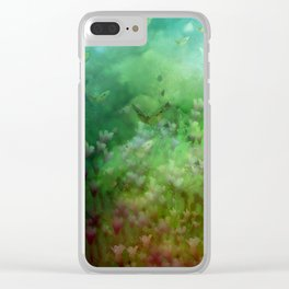 """""""The Enchanted Forest"""" (Fairyland) Clear iPhone Case"""