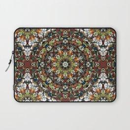 Boho Geometric Mandela Pattern 1 Laptop Sleeve