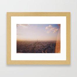 Paris view from Montparnasse Framed Art Print