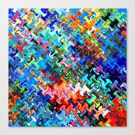 pattern sunnyday  Canvas Print