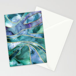 The Magnetic Tide Stationery Cards