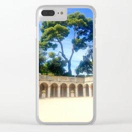 Lone Star Clear iPhone Case