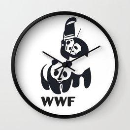 WWF Panda Wall Clock