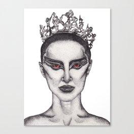 Natalie Portman - Black Swan Canvas Print
