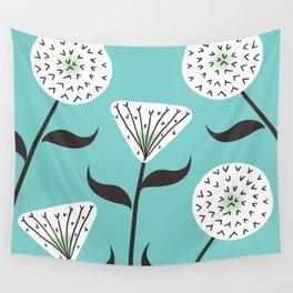 Large Print Dandelion Seeds Spring Summer Pattern Wall Tapestry