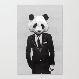 Panda Suit Canvas Print
