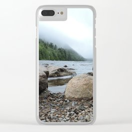 Acadia Maine Ocean Perspective Clear iPhone Case
