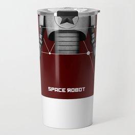 Space robot 4 Travel Mug