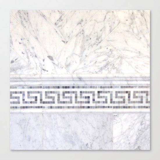 Greek Marble 2 Canvas Print