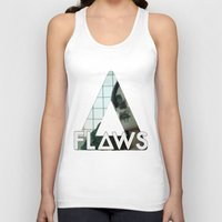 bastille Tank Tops featuring Bastille - Flaws by Thafrayer