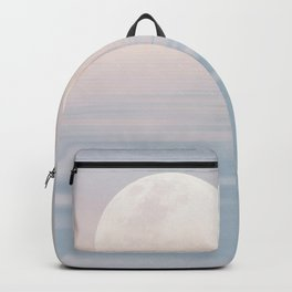 Moon Over Calm Waters Backpack