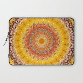 Sunny Side Bubble Dot Pattern 6 Laptop Sleeve