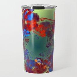 The Flower I Love Travel Mug
