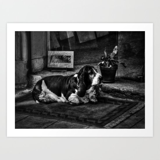 Guard Dog Art Print