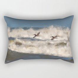 Between The Waves Rectangular Pillow