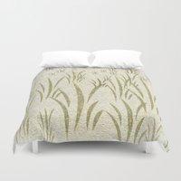 grass Duvet Covers featuring Grass by Armin