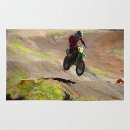 Motocross Moguls Rug