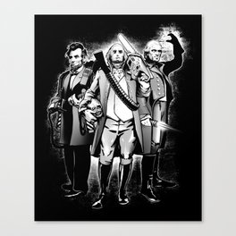 President Bad Ass Canvas Print