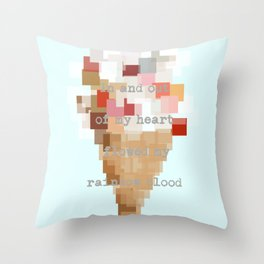 Lolita's Ice Cream Throw Pillow