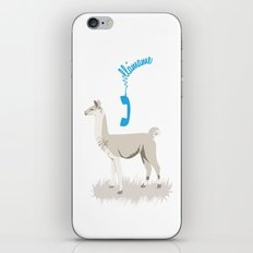 llamame iPhone & iPod Skin