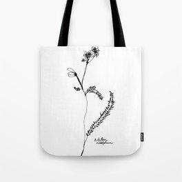 Achillea millefolium Tote Bag