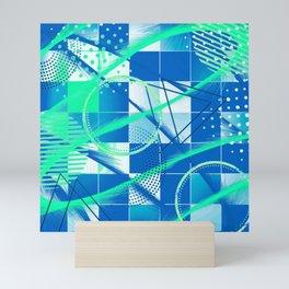 Oceanic Abstract Mini Art Print