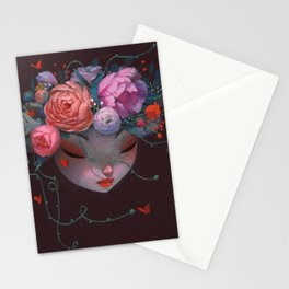 Crown of Peonies Stationery Cards