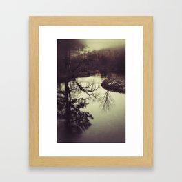 Liquid Curves Framed Art Print