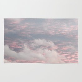 Cloud layers of Pink Rug