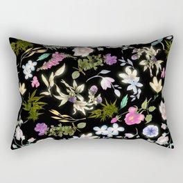 Blooming Weed Rectangular Pillow
