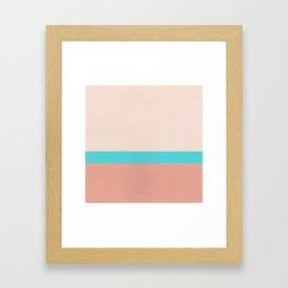 Pool Edge Framed Art Print