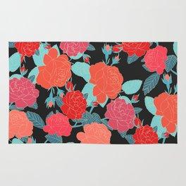 Rose Garden - Dark Rug