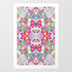 CARROUSEL Art Print
