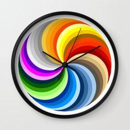 Ubuntu 36 Swirl Wall Clock