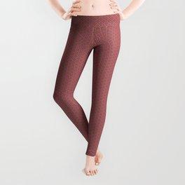 Pink Geoflower Leggings