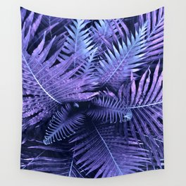 Purpple Ferns Wall Tapestry