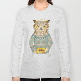 Feathers & Tunes Long Sleeve T-shirt