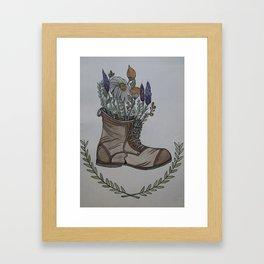 Where Wild Flowers Grow Framed Art Print