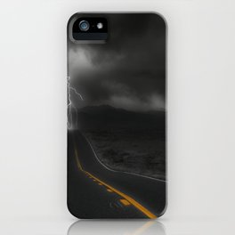 Highway Strike iPhone Case