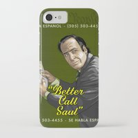better call saul iPhone & iPod Cases featuring Better Call Saul by Denis O'Sullivan