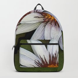 White Water Lily Backpack
